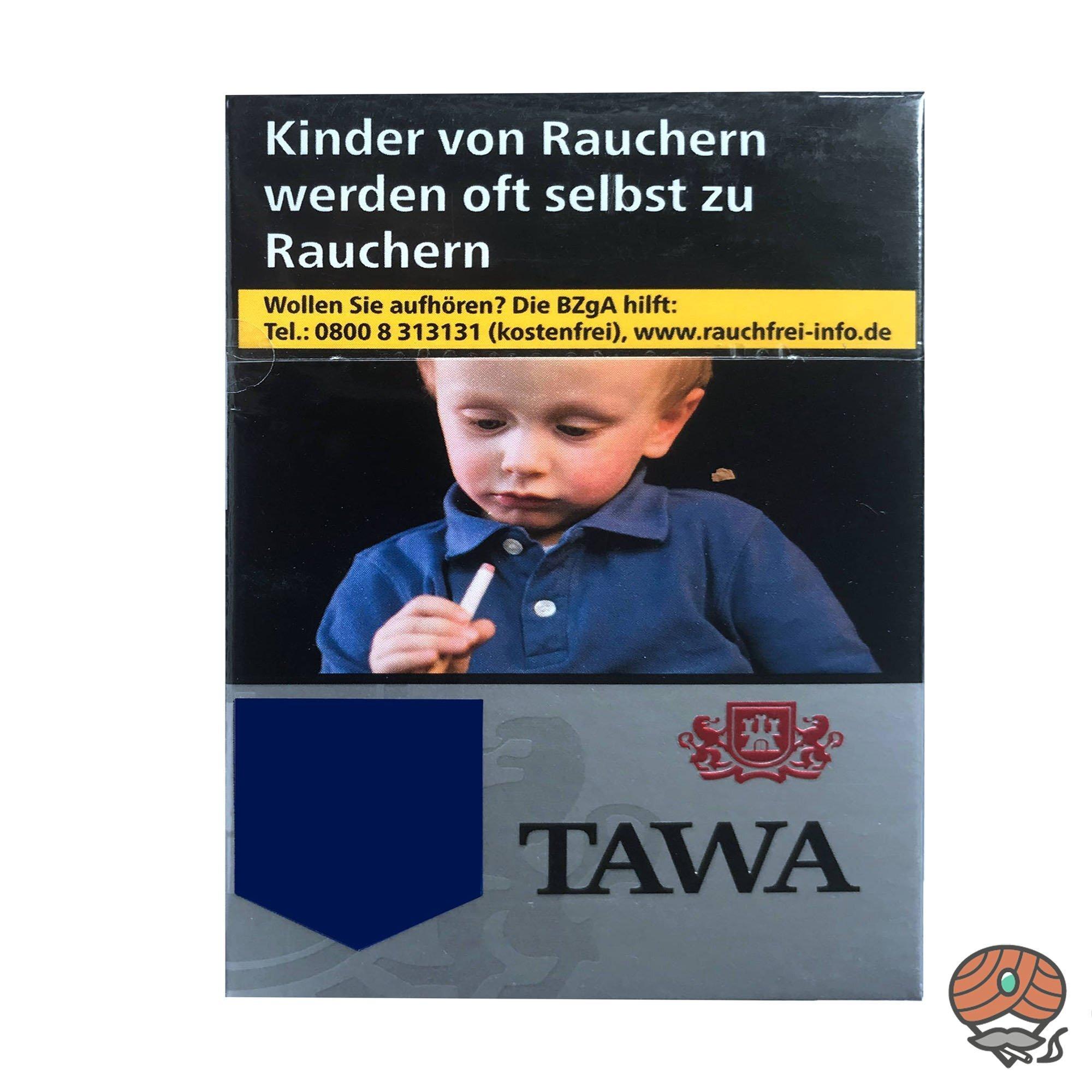 Tawa Silver / Silber XXL-Box Zigaretten - 28 Stück