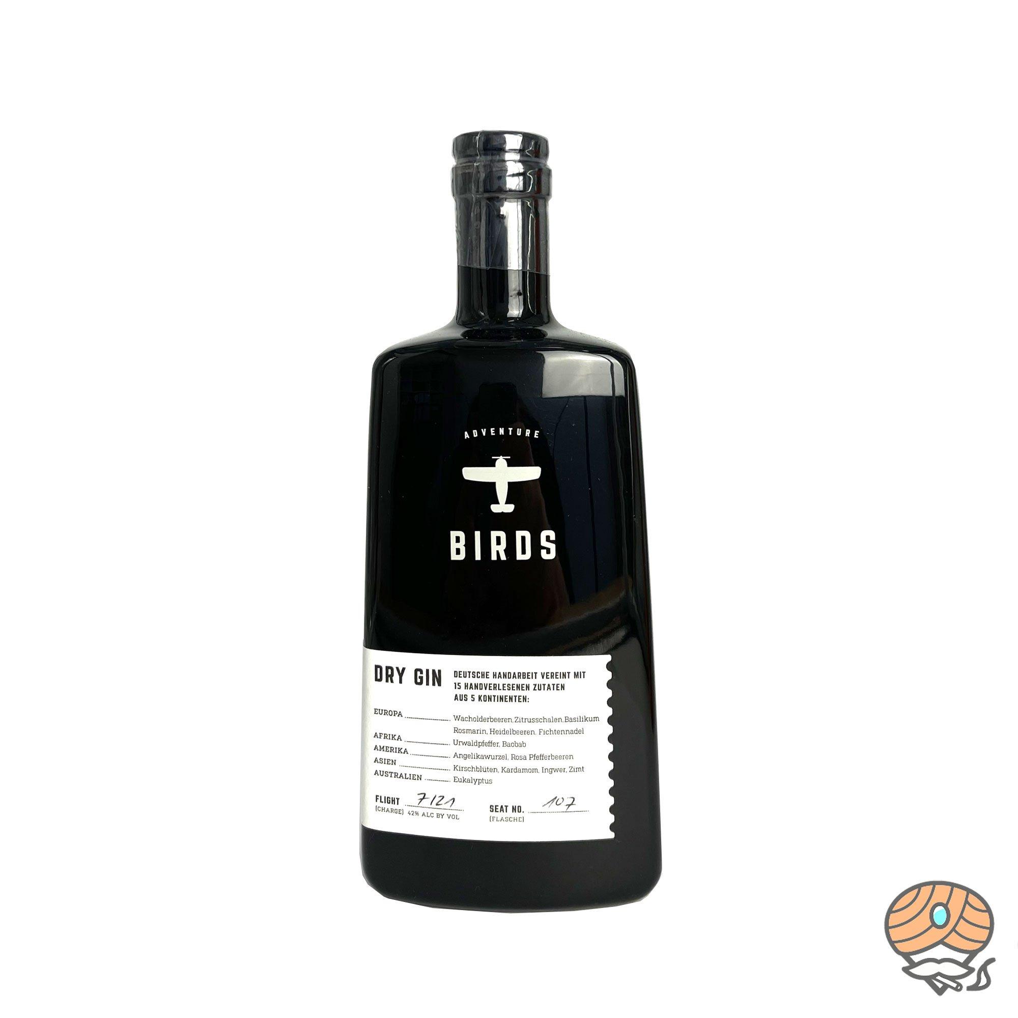 Bird Dry Gin 0,5l, alc. 42 Vol.-% mit handverlesenen Zutaten