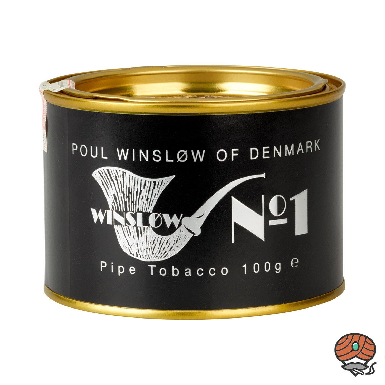 Poul Winsløw No. 1 Pfeifentabak 100g Dose