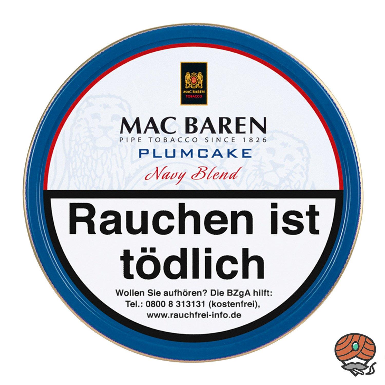 Mac Baren Plumcake Navy Blend Pfeifentabak 100 g
