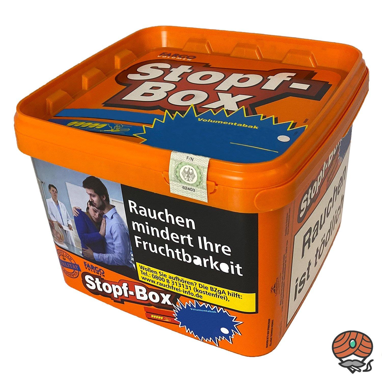 2x Fargo Stopf-Box Stopftabak / Volumentabak Eimer à 190 g