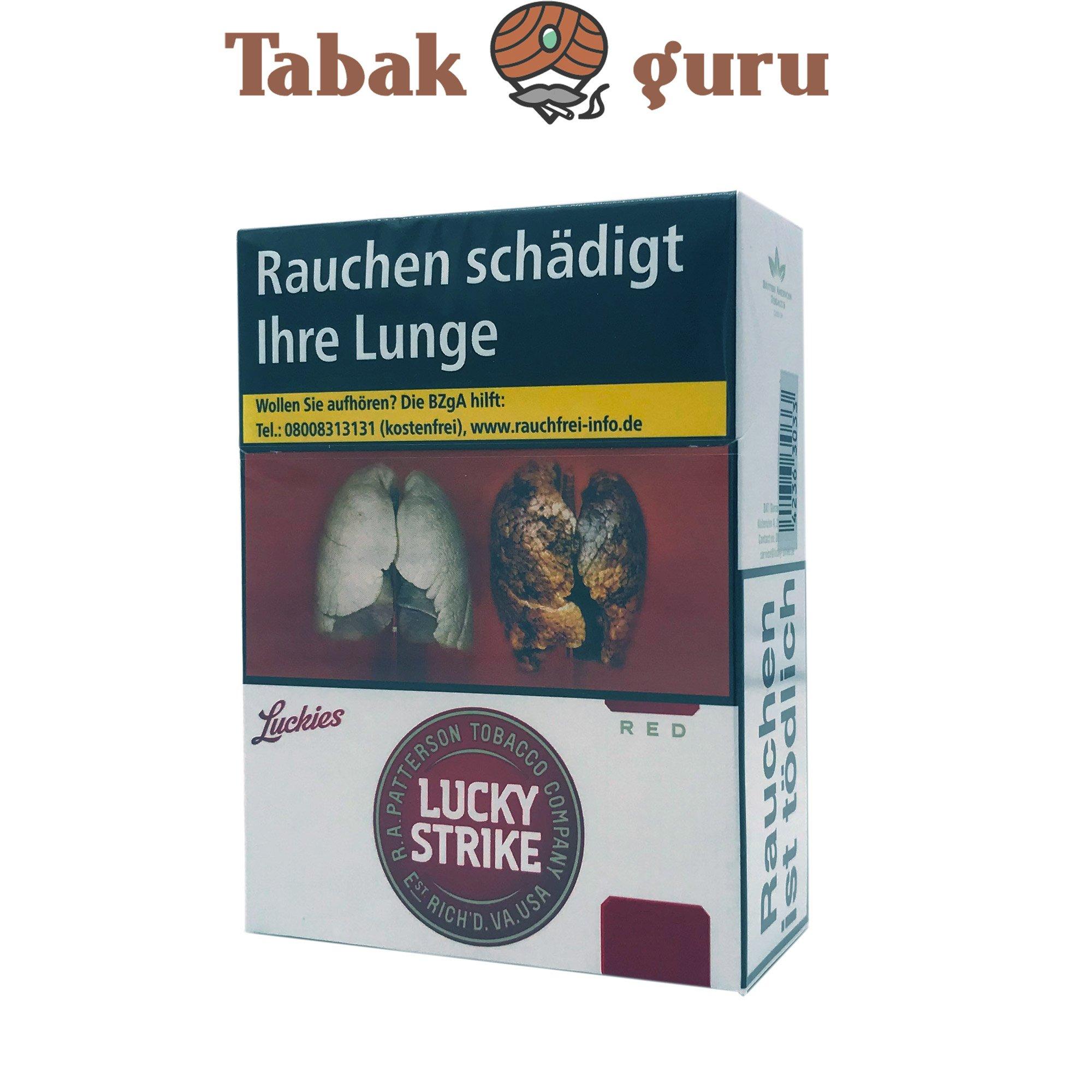Lucky Strike Original Red XXXL Inhalt 29 Stück