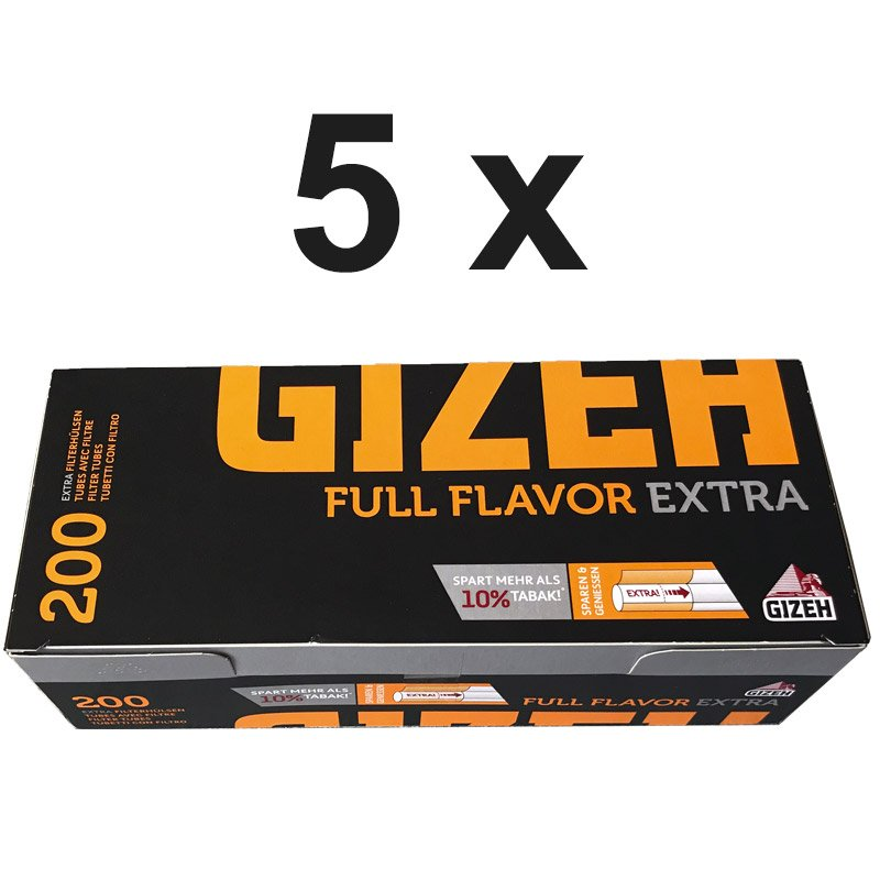 1000 Gizeh Full Flavor Extra Filterhülsen