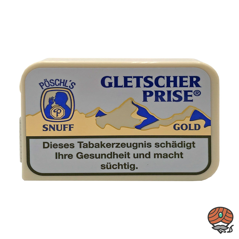Gletscherprise Gold Snuff Schnupftabak 10g Dose