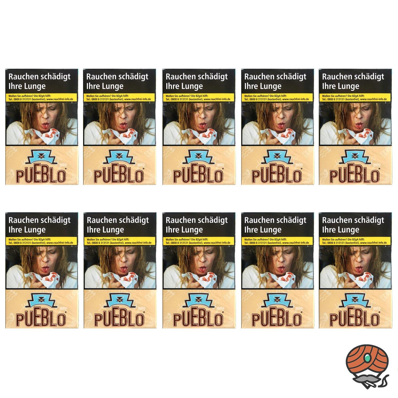 1 Stange Pueblo Classic Filterzigaretten ohne Zusätze 10x20 Stück