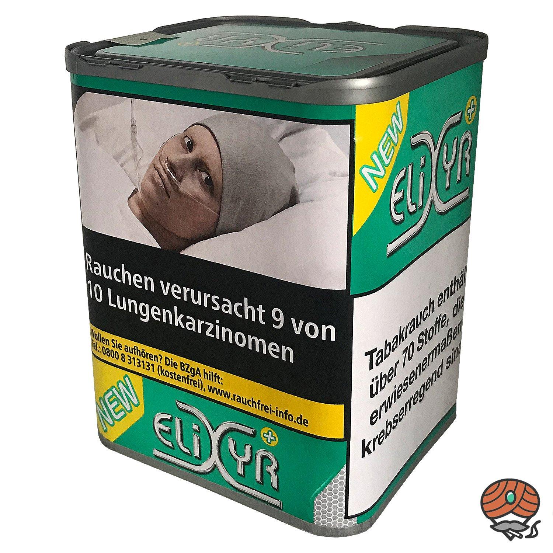 Elixyr PLUS Tabak 115g Zigarettentabak + Elixyr Menthol Hülsen + Menthol Stein