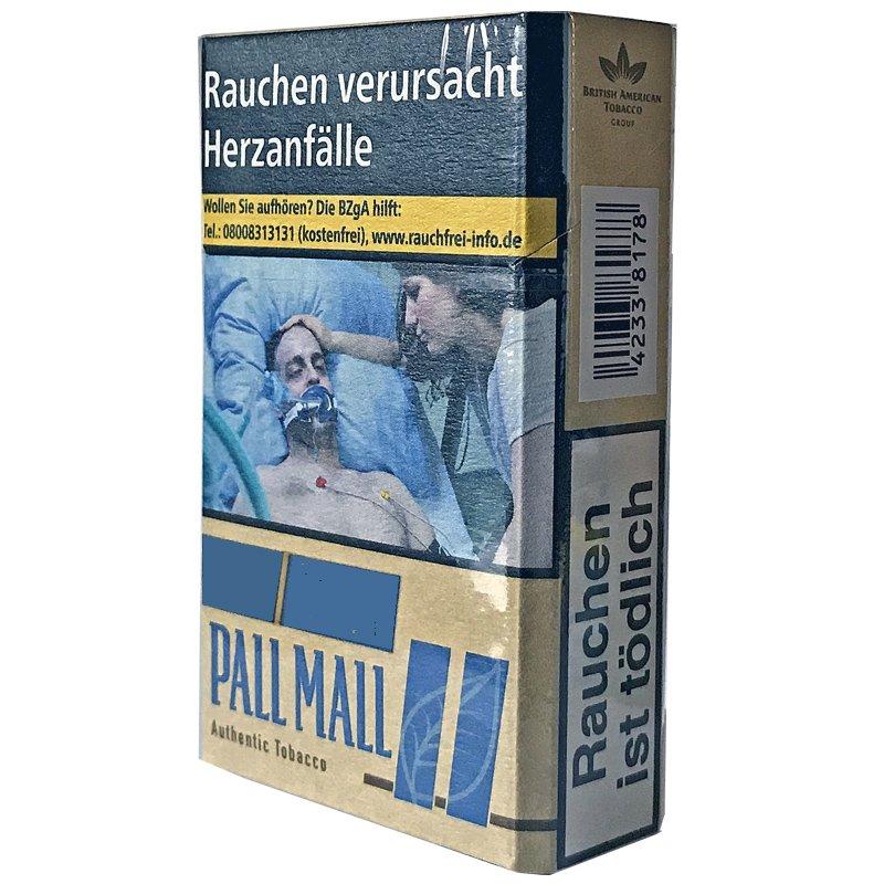 Pall Mall Blue / Authentic  Blau ohne Zusätze (20 Stück)
