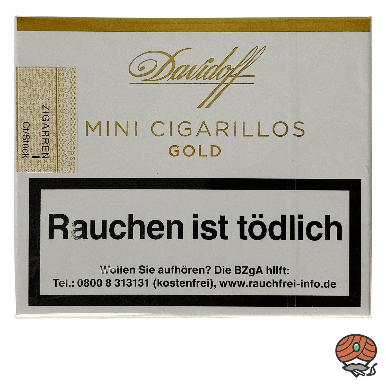 Davidoff Gold Mini Cigarillos / Zigarillos, 20 Stück