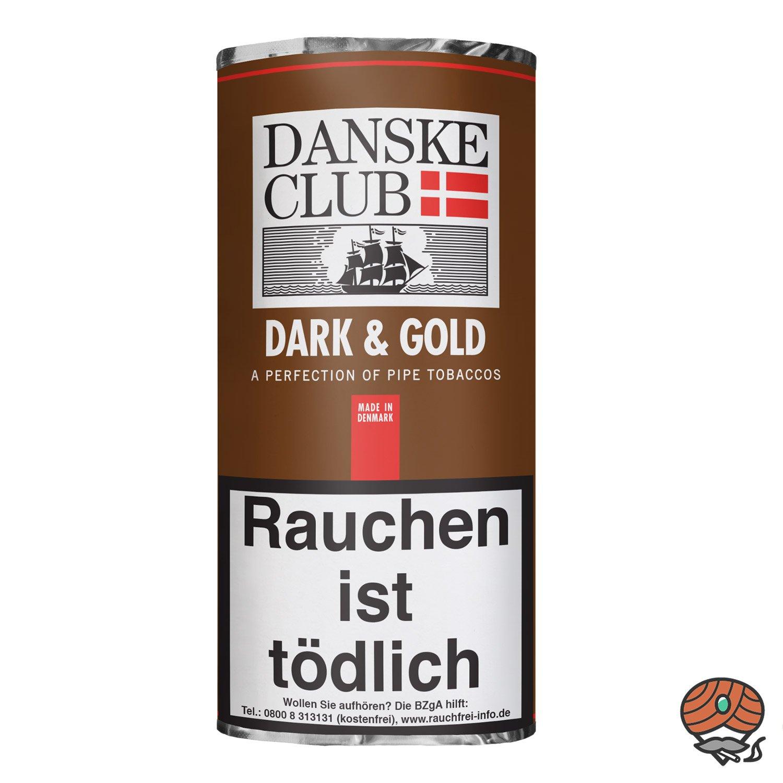 Danske Club Dark & Gold Pfeifentabak 50g Pouch / Beutel