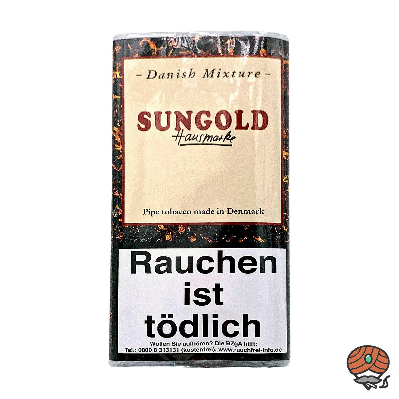 Danish Mixture Hausmarke Sungold Pfeifentabak 50g Pouch