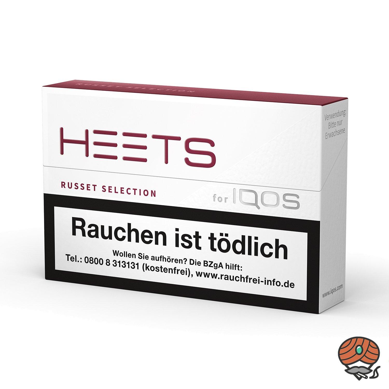 HEETS Russet Selection Tabak Sticks von Marlboro für IQOS 20 Stück