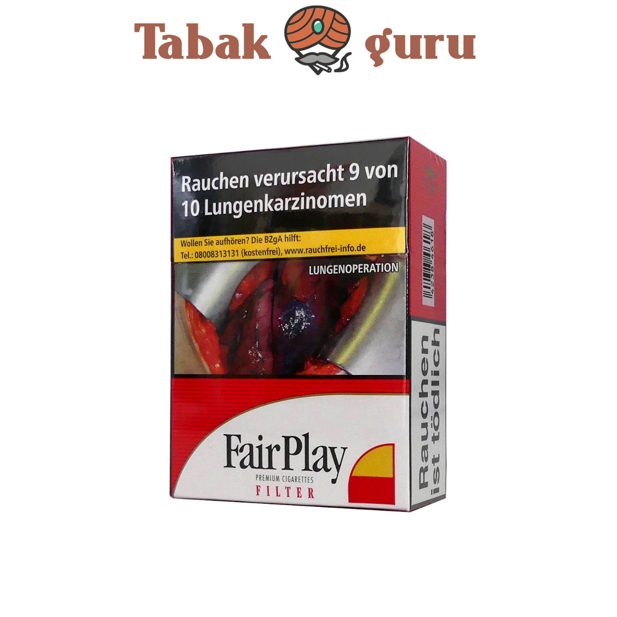 Fair Play Filter Full Flavor Zigaretten XXL Box 26 Stück